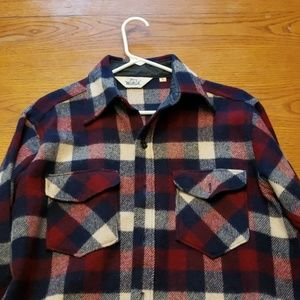 Mens wool shirt